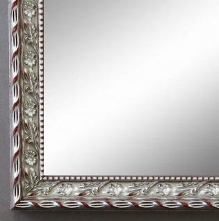 Spiegel Wandspiegel Badspiegel Flur Garderobe Barock Antik Brescia Silber 2, 0