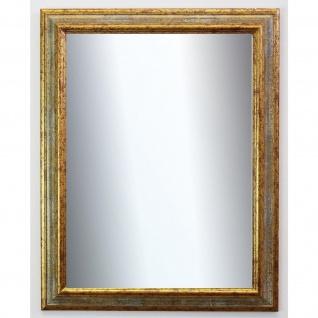 Spiegel Wandspiegel Badspiegel Flur Garderobe Antik Barock Bari Grau Gold 4, 2