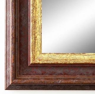 Spiegel Wandspiegel Badspiegel Flur Antik Landhaus Shabby Trento Braun Gold 5, 4