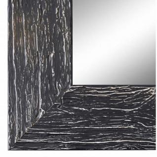 Wandspiegel Spiegel Schwarz Rustikal Retro Holz Capri 5, 8 - NEU alle Größen