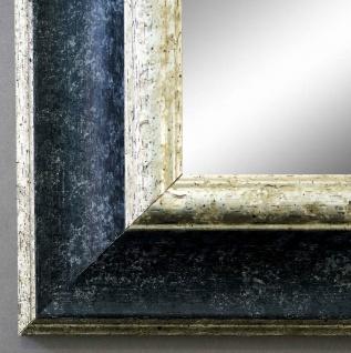 Spiegel Wandspiegel Badspiegel Flurspiegel Antik Barock Acta Schwarz Silber 6, 7
