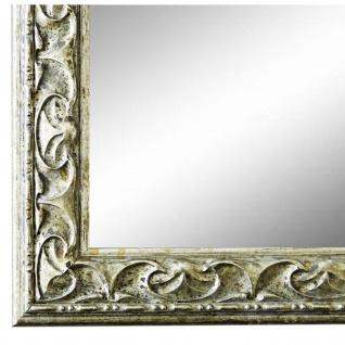 Wandspiegel Spiegel Silber Barock Retro Holz Mantova 3, 1 - NEU alle Größen