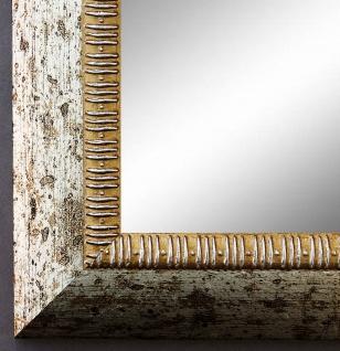 Spiegel Wandspiegel Badspiegel Flurspiegel Antik Barock Shabby Turin Silber 4, 0