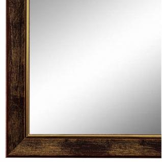 Wandspiegel Spiegel Braun Gold Vintage Shabby Frosinone 1, 8 - NEU alle Größen