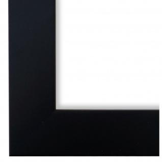 Bilderrahmen Schwarz Modern Vintage Retro Holz Florenz 4, 0 - NEU alle Größen