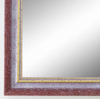 Wandspiegel Rot Gold Braunschweig Shabby 2, 4 - alle Größen