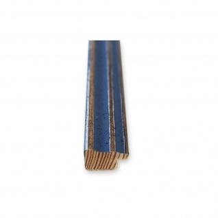 Bilderrahmen hell Blau Antik Shabby Holz Cosenza 2, 0 - NEU alle Größen - Vorschau 5