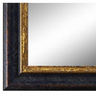 Wandspiegel Spiegel Blau Gold Vintage Retro Holz Forli 3, 7 - NEU alle Größen