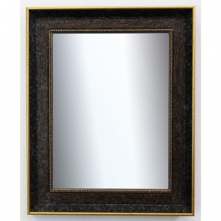 Garderobenspiegel dunkel Braun Gold Monza Antik Barock 6, 7 - NEU alle Größen