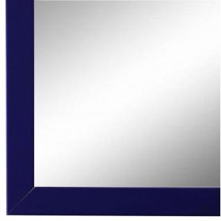 Wandspiegel Spiegel dunkel Blau Modern Holz Asti 1, 7 - NEU alle Größen