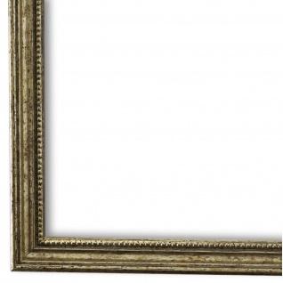 Bilderrahmen Silber Barok Holz Empoli 1, 5 - DIN A2 - DIN A3 - DIN A4 - DIN A5