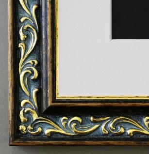 Bilderrahmen Verona Braun Gold mit Passepartout in Weiss 4, 4 - NEU alle Größen