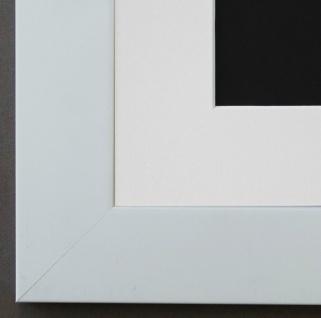 Bilderrahmen Florenz in Weiss mit Passepartout in Weiss 4, 0 Top Qualität