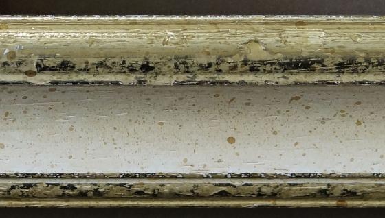 Garderobenspiegel Weiss Silber Genua Antik Barock 4, 3 - NEU alle Größen - Vorschau 5