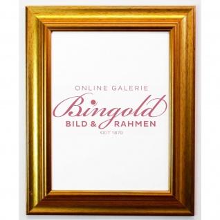 Bilderrahmen Gold Antik Barock Fotorahmen Urkunden Rahmen Holz Vintage Acta 6, 8 - Vorschau 2