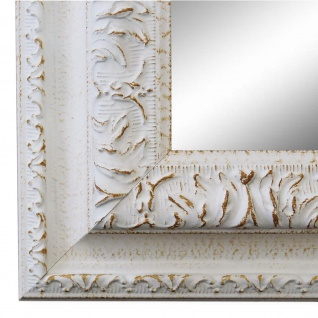 Wandspiegel Spiegel Weiss Barock Vintage Holz Rom 6, 5 - NEU alle Größen