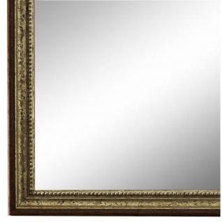 Wandspiegel Spiegel Silber Braun Barock Antik Holz Empoli 1, 5 - NEU alle Größen
