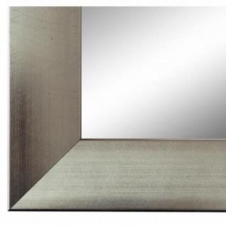 Wandspiegel Spiegel Silber Modern Holz Bergamo 4, 0 - NEU alle Größen