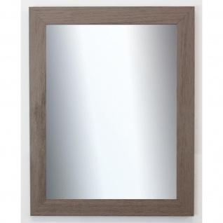 Spiegel Wandspiegel Badspiegel Flur Shabby Chic Landhaus Florenz Grau Braun 4, 0