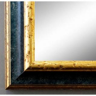 Badspiegel Schwarz Gold Genua Antik Barock 4, 2 - alle Größen
