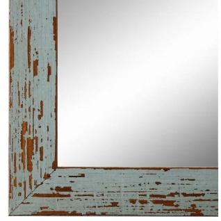 Wandspiegel Spiegel Türkis Shabby Antik Holz Cremona 3, 0 - NEU alle Größen
