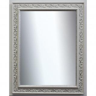 Wandspiegel Weiss Silber Verona Antik Barock Vintage 4, 4 - NEU alle Größen