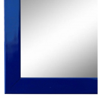 Wandspiegel Spiegel Blau Lack Modern Holz Como 2, 0 - NEU alle Größen