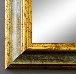 Garderobenspiegel Grau Gold Bari Antik Barock 4, 2 - alle Größen
