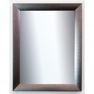 Wandspiegel Silber Spiegel Modern Badspiegel Flur Garderobe Bergamo 4, 0