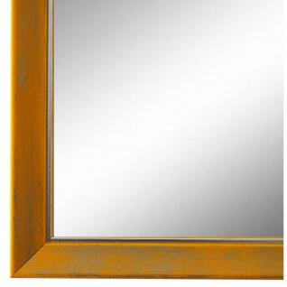 Wandspiegel Spiegel Gelb Silber Vintage Shabby Frosinone 1, 8 - NEU alle Größen