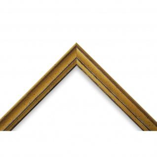 Bilderrahmen Gelb Antik Holz Cosenza 2, 0 - Din A2 - Din A3 - Din A4 - Din A5 - Vorschau 3