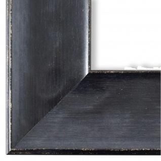 Bilderrahmen matt Schwarz Vintage Retro Holz Taranto 7, 5 - NEU alle Größen