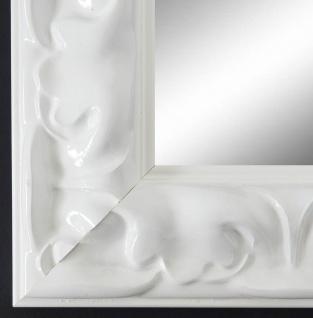 Spiegel Wandspiegel Bad Flur Garderobe Barock Sylt Weiss Lack 6, 9 alle Größen