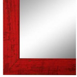Wandspiegel Spiegel Rot Shabby Antik Holz Cremona 3, 0 - NEU alle Größen