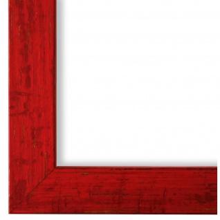 Bilderrahmen Rot Antik Vintage Holz Cremona 3, 0 - 40x60 50x50 50x60 60x60
