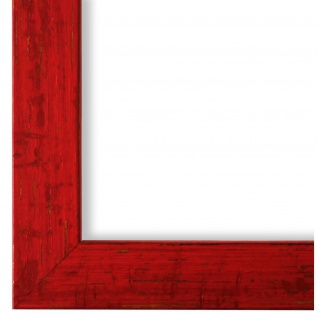 Bilderrahmen Rot Antik Vintage Holz Cremona 3, 0 - NEU alle Größen