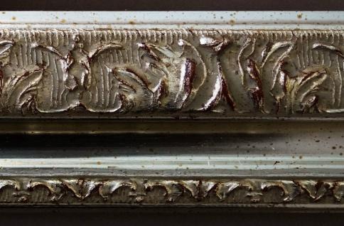 Spiegel Silber Antik Barock Wandspiegel Badspiegel Flur Prunkrahmen Rom 6, 5 - Vorschau 4