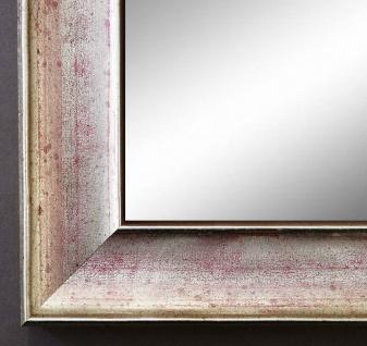 Spiegel Wandspiegel Badspiegel Flur Garderobe Modern Matera Silber Rot 3, 9