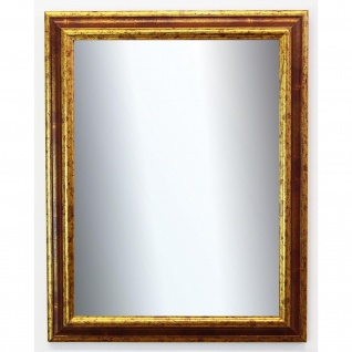 Badspiegel Rot Gold Bari Antik Barock 4, 2 - NEU alle Größen