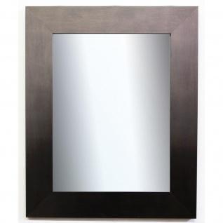 Spiegel Wandspiegel Badspiegel Flur Modern Vintage Novara dunkel Silber 7, 0