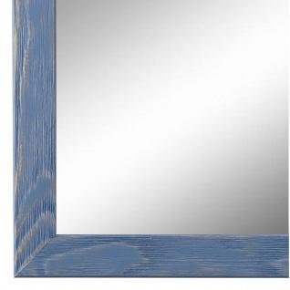 Wandspiegel Spiegel hell Blau Retro Modern Holz Siena 2, 0 - NEU alle Größen