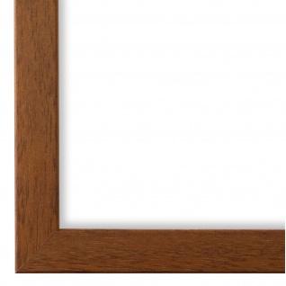 Bilderrahmen hell Braun Holz Neapel 2, 0 - DIN A2 - DIN A3 - DIN A4 - DIN A5
