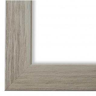 Bilderrahmen Grau Holz Florenz 4, 0 - DIN A2 - DIN A3 - DIN A4 - DIN A5