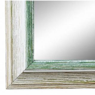 Wandspiegel Spiegel Beige Grün Vintage Retro Holz Bari 4, 4 - NEU alle Größen