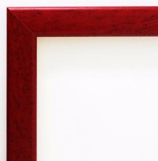 Bilderrahmen Rot Modern Rahmen Holz Art Deco Hannover 2, 4 - alle Größen