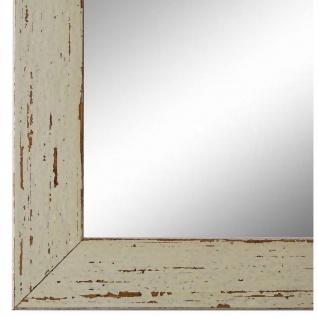 Wandspiegel Spiegel Beige Shabby Antik Holz Cremona 3, 0 - NEU alle Größen