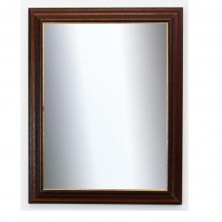 Badspiegel Braun Gold Genua Antik Barock 4, 2 - NEU alle Größen