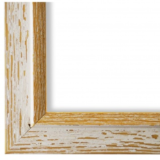 Bilderrahmen Beige Gold Retro Holz Catanzaro 3, 9 - 40x60 50x50 50x60 60x60