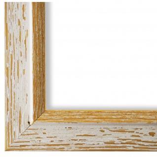 Bilderrahmen Beige Gold Retro Vintage Holz Catanzaro 3, 9 - NEU alle Größen