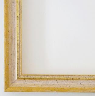 Bilderrahmen Gelb Gold Antik Rahmen Klassisch Braunschweig 2, 5 alle Größen NEU